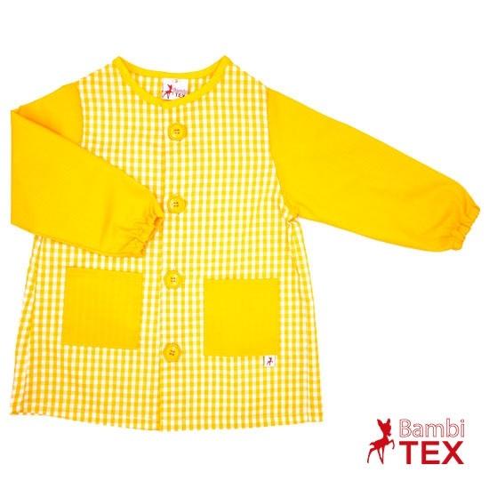 Babi para guardería amarillo