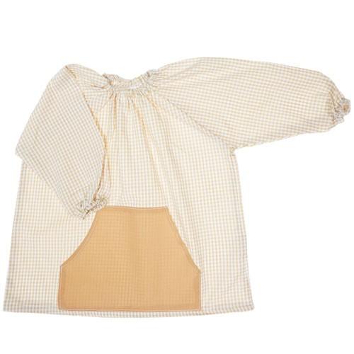 Bata de algodón para colegio