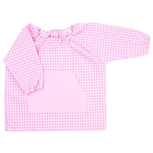 Bata de guardería personalizada Rosa bebé
