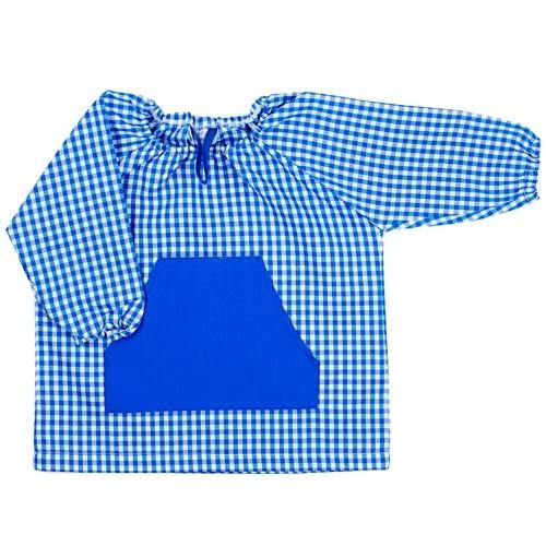 Bata guarderia Vichy Azul Marino