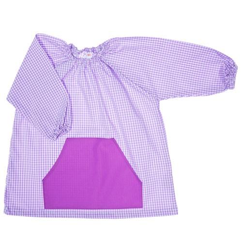 Bata escolar algodón personalizada