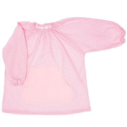 Bata escolar de algodón