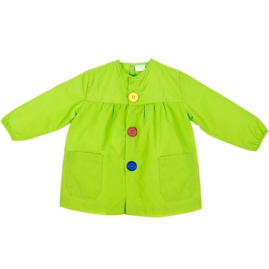 Bata escolar verde pistacho