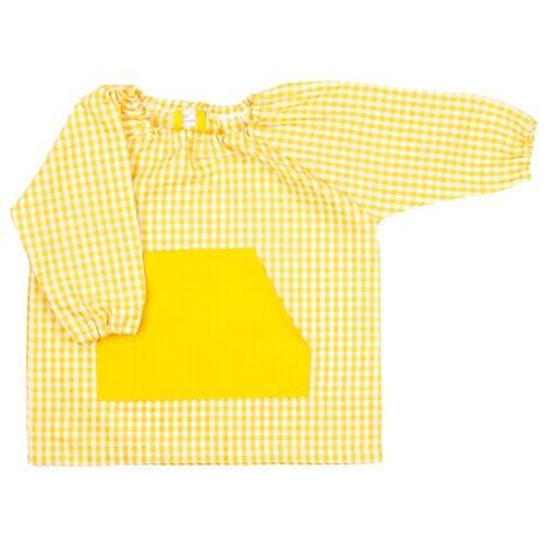 Bata guarderia personalizada Amarilla