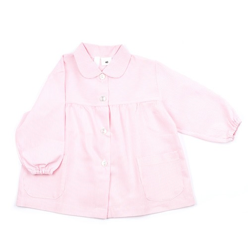 Bata para colegio rosa