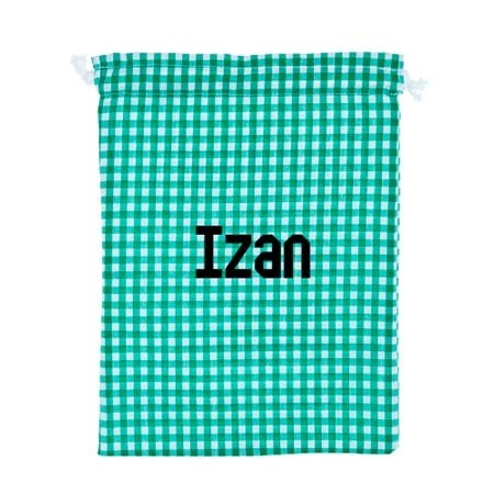 Bolsa de ropa personalizada verde