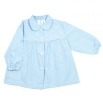 Bata de guardería azul bebé