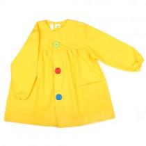 Bata de bebé amarilla