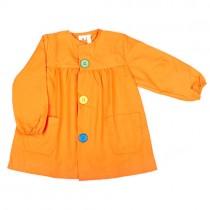 Bata de niños naranja