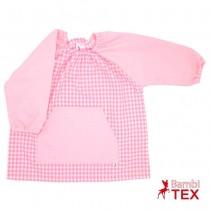 Batas de guardería bordadas Rosa bebé