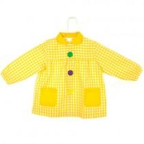 Bata escolar amarilla