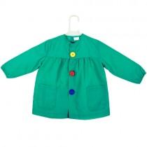 Bata de bebé verde